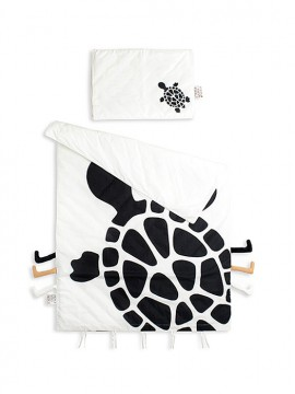 BEDDING SET ORGANIC 'TURTLE'
